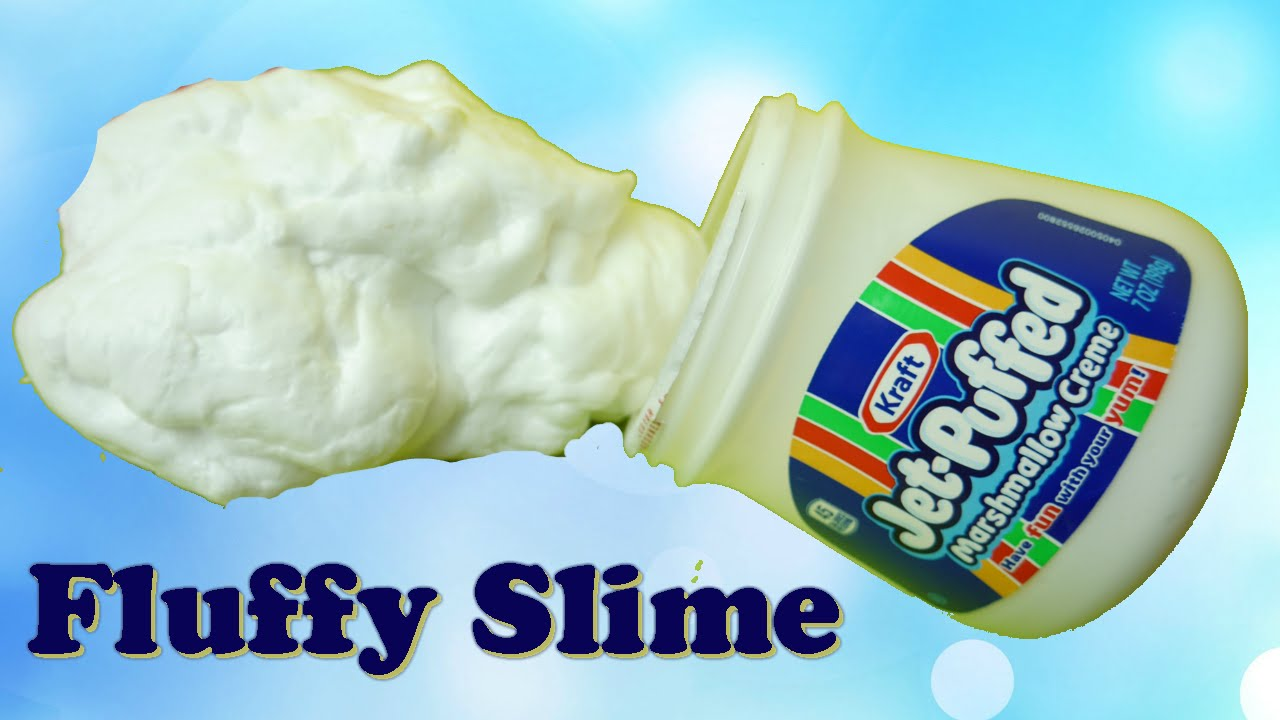How To Make Fluffy Slime Without Borax With Shaving Cream Super Easy