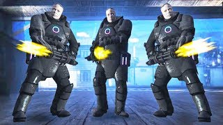 INVISIBLE JUGGERNAUT ARMOUR SUPER SOLDIERS! (GTA 5 Doomsday Heists DLC)
