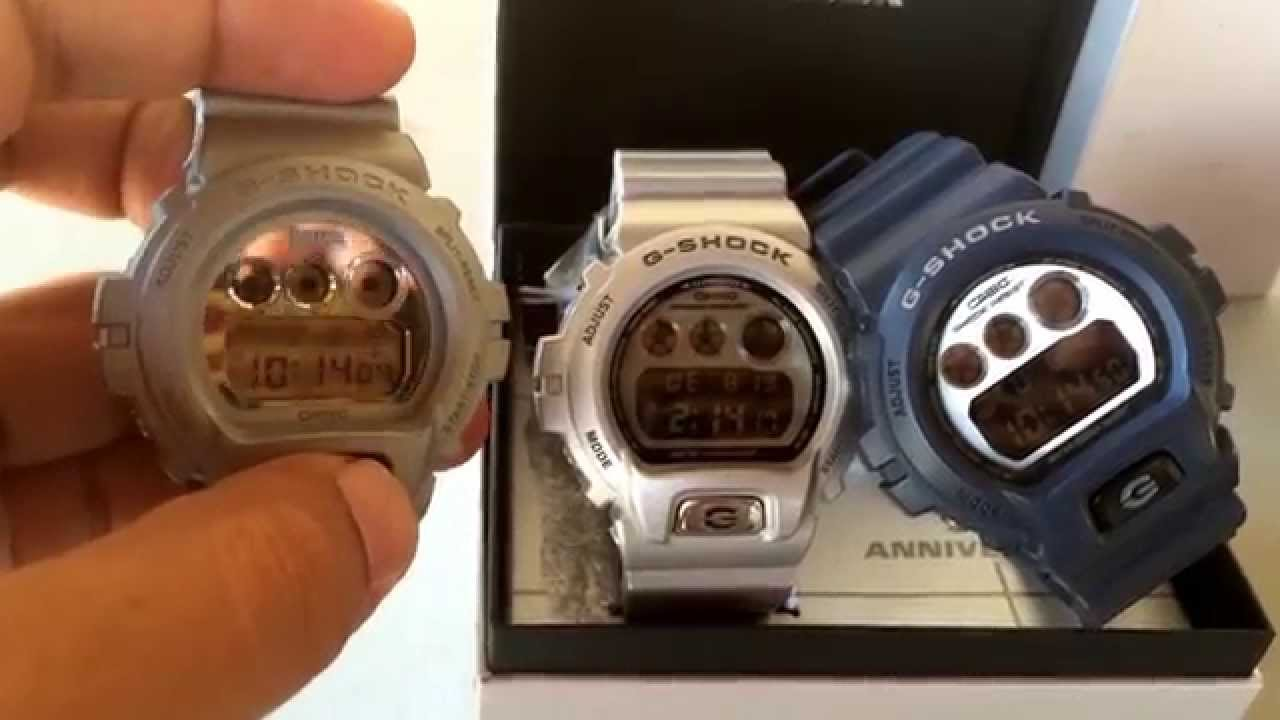 55973cb24624 Basel World DW6930BS-8 Review    G-Shock Display - YouTube