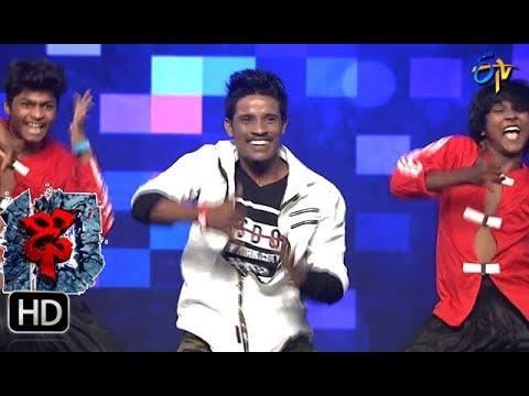 Raju Performance | Dhee 10 | 13th September 2017| ETV Telugu
