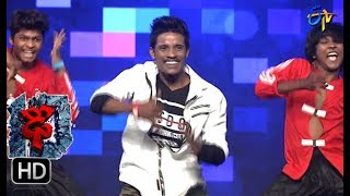 Raju Performance | Dhee 10 | 13th September 2017| ETV Telugu