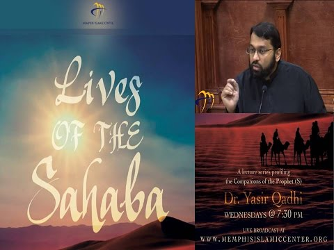 Lives of Sahaba 25 - Uthman b. Affan 5 - Assassination: Abu Dharr Al-Ghifari - Yasir Qadhi