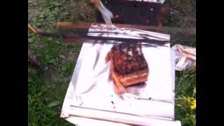 Грудинка с ребрами на углях в фольге. Очень вкусно