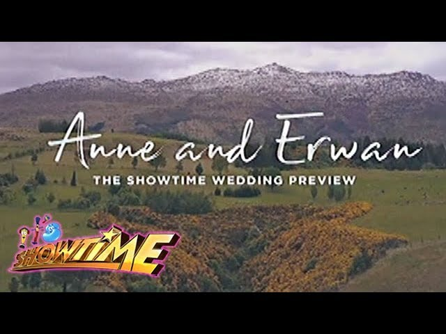 It's Showtime: Anne and Erwann Heussaff's wedding video preview