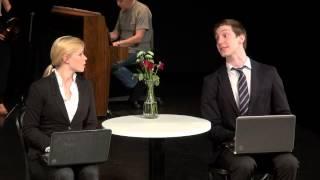 FIKET musikalen - Julie Hall + Arvid Assarsson - del 1 - Skåpfjortis