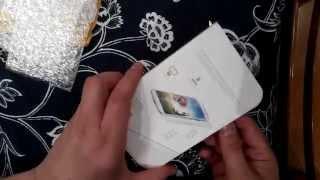 Распаковка посылки  закаленное стекло для  iphone 5(брал стекло тут ..., 2014-10-21T09:22:13.000Z)