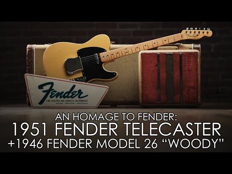 An Homage To Fender - GEORGE FULLERTON'S 1951 TELECASTER & LEO FENDER'S BENCH AMP