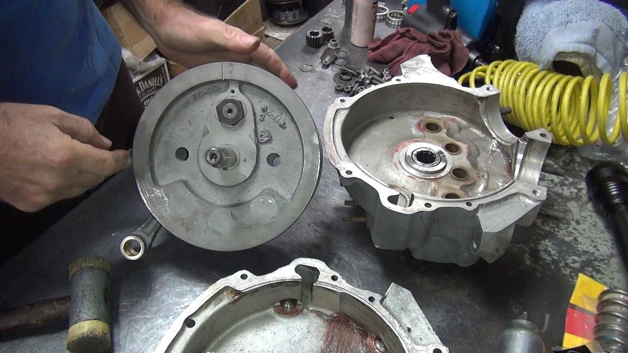 1942 wlc #105 wla 45ci flathead dirty motor rebuild harley wl side-valve by  tatro machine