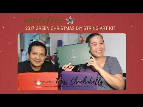 Innisfree's Christmas DIY String Art Kits 2017