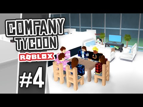 BUILDING A STAFF ROOM - Roblox Company Tycoon #4