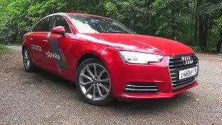2016 Audi A4 (B9) 1.4 TFSI S-tronic. Test Drive.
