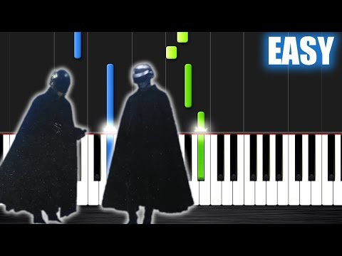 The Weeknd - I Feel It Coming ft. Daft Punk - EASY Piano Tutorial by PlutaX