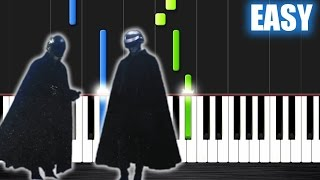Download The Weeknd - I Feel It Coming ft. Daft Punk - EASY Piano Tutorial by PlutaX MP3 song and Music Video