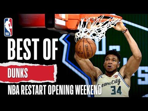 Best Of DUNKS So Far | NBA Restart