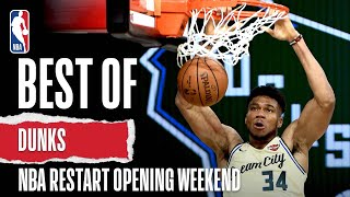 Best Of DUNKS So Far | NBA Restart