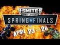 SPL Spring Finals: April 23 - 26 (Monster Truck Style - Smite Pro League)
