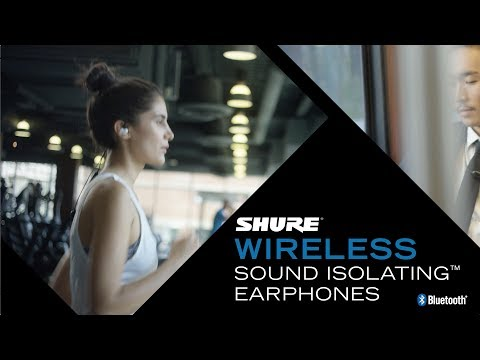 Shure Wireless Sound Isolating™ Earphones