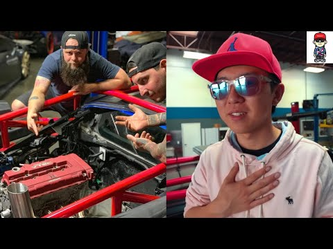 Did Alex Choi REALLY Integra Type R Swap his Huracan?!