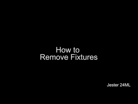 How To Remove Fixtures