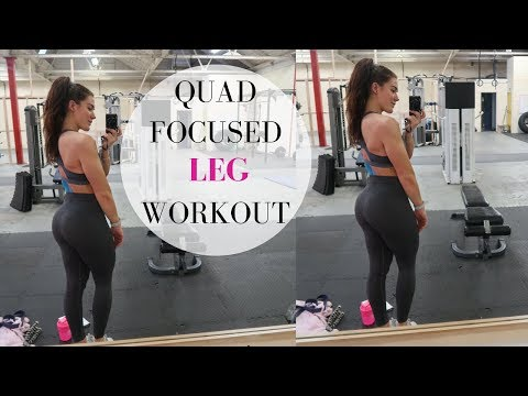 Quad Focused Leg Workout   Absolute FIRE