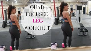 Quad Focused Leg Workout | Absolute FIRE