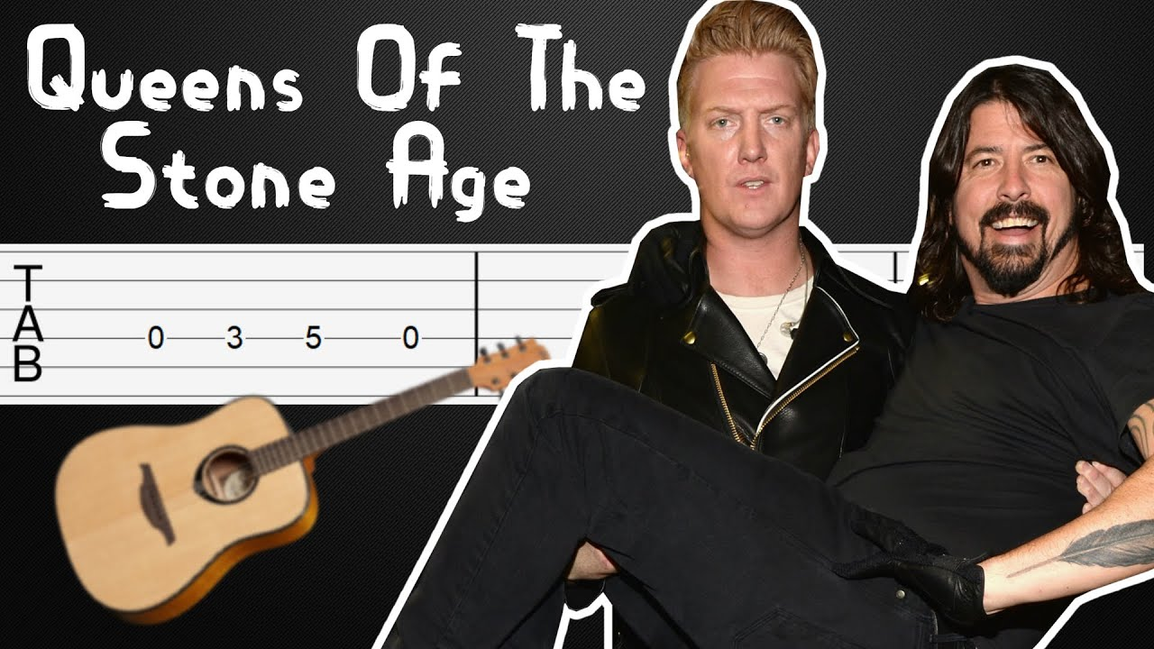 No One Knows - Queens Of The Stone Age Guitar Tabs, Guitar Tutorial, Guitar Lesson