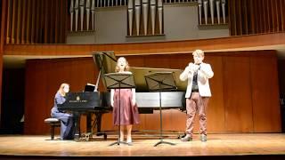 "Let The Bright Seraphim ""Samson"" (Handel) - Anna Wojcik & Patrick Smithers"