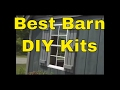Best Barn Kit Storage Sheds DIY