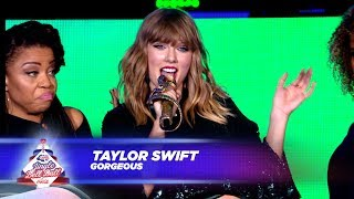 Download Lagu Taylor Swift - 'Gorgeous' - (Live At Capital's Jingle Bell Ball 2017) Mp3
