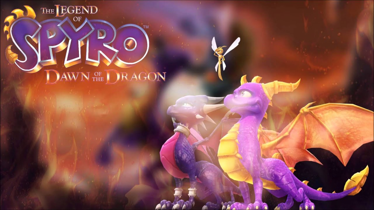 The Legend Of Spyro Dawn Of The Dragon Ost Cave Valley Flight