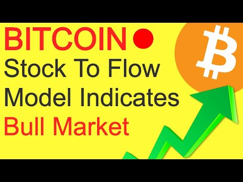 Bitcoin Stock-to-Flow Model Indicates Start of Bull Market - Crypto Exchange With The Most BTC 1
