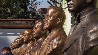 От Ленина до Горбачёва: в Москве открыли аллею правителей ХХ века