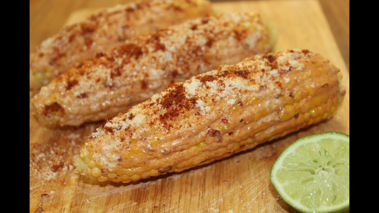 Mexican corn on the cob cooked by julie episode 35 youtube ccuart Choice Image