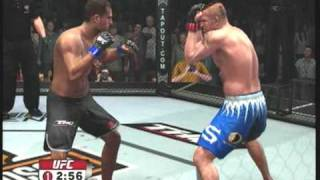 UFC 09 Undisputed Demo Gameplay