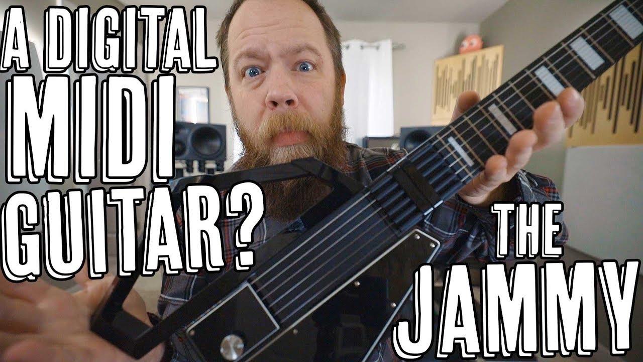 Download A Digital MIDI Guitar? The Jammy!