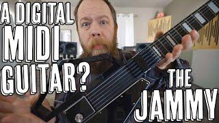 A Digital MIDI Guitar? The Jammy!