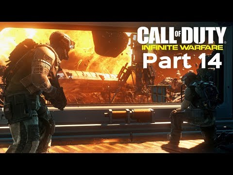 CALL OF DUTY INFINITE WARFARE - Walkthrough Part 14 - ASTEROID! (Campaign)