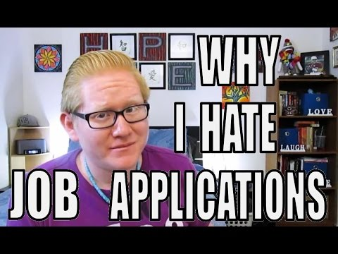 Why I Hate Job Applications