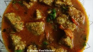 Veg Eral Kulambu Recipe-சைவ ஈரல் குழம்பு -Puli Kulambu Recipe By Healthy Food Kitchen