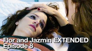 Flor and Vir at the hospital - Flor and Jazmin EXTENDED Episode 8 (English Subtitles)