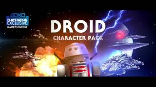 LEGO Звездные войны: Пробуждение силы — трейлер дроидов