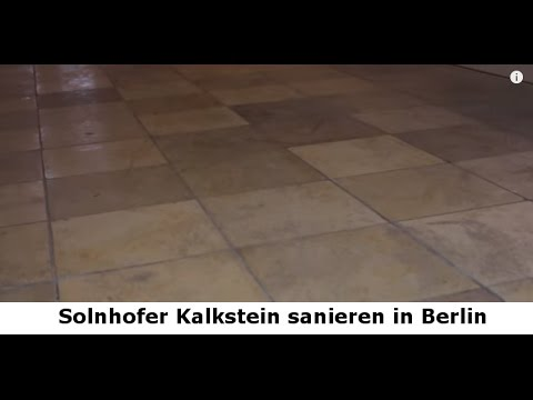 solnhofer kalkstein sanieren naturstein treppenhaus renovieren in berlin stein doktor youtube. Black Bedroom Furniture Sets. Home Design Ideas