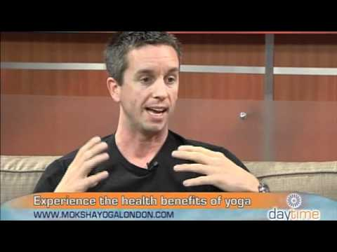 Moksha Yoga London Co-Owner, Rob, On Daytime