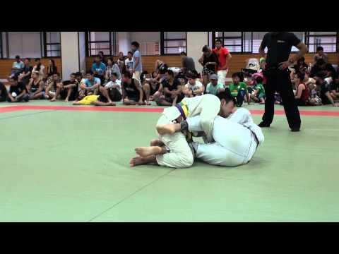 服部剛士 vs Gustavo Silva / Jiu Jitsu Priest CUP 2014 GIFU
