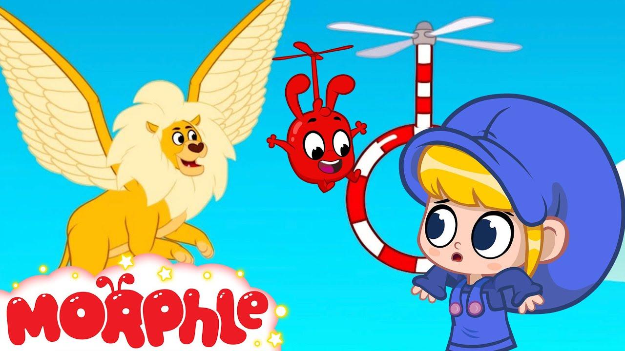 Where is My Flying Lion | Mila and Morphle Cartoons For Kids | Morphle vs Orphle - Kids Videos
