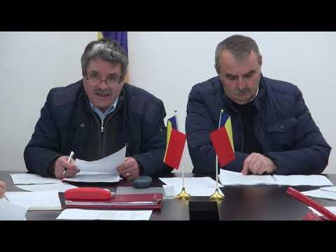 Ședința Consiliului Local Broșteni din 28 Noiembrie 2019