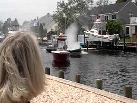 Boat Fire - Toms River NJ 5-28-10