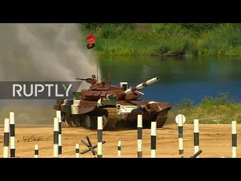 LIVE: Tank biathlon resumes on day 3 of Army Games 2017 in R