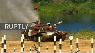 LIVE  Tank biathlon resumes on day 3 of Army Games 2017 in Russia