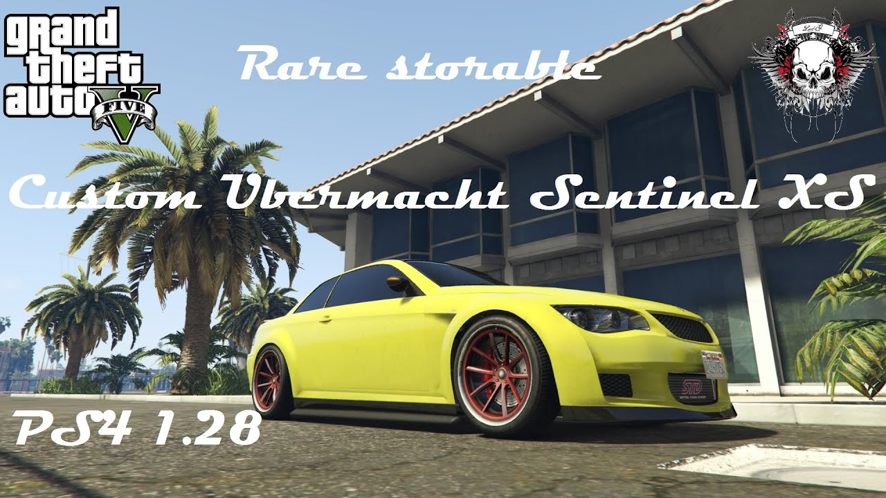 Grand Theft Auto V_Rare selling custom ubermacht sentinel ... Ubermacht Sentinel Xs Gta 5 Location